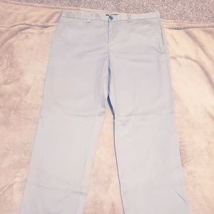 Kenneth Cole Reaction Men's Light Gray Pants 38/34